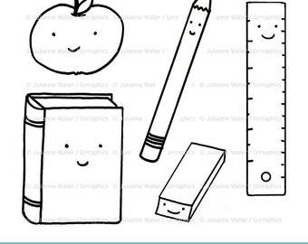 Classroom art digital illustrations