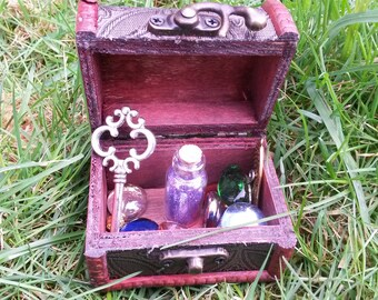 Fairy Princess Treasure Box with Secret Key, Treasure and Fairy Dust
