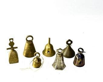 Lot of Small Brass Bells