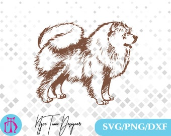 Pomeranian svg,png,dxf/Pomeranian clipart for Design,Print,Silhouette,Cricut and any more