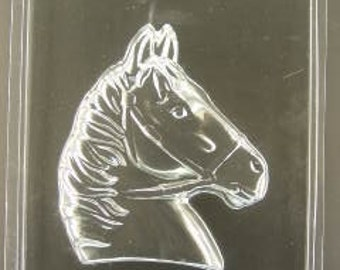 """Large Horse Head chocolate mold (5 1/4"""" wide x 6"""" tall)"""