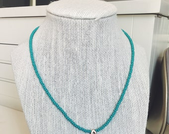 Seed Initial Mid-length Necklace