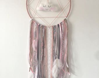 DreamCatcher - Dreamcatcher - cloud - old pink