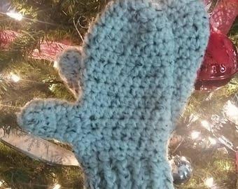 "Chunky Crochet ""Lily"" Mittens Pattern"