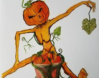 Halloween Head: Primping and Pruning