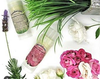 Sensitive Skin Deodorant -Organic Deodorant - All Natural Deodorant - Baking Soda Free Deodorant