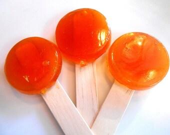 COUGH POPS for KIDS, Honey Lemon, Menthol Eucalyptus, Throat, Immune Support, Lollipop Lozenges, Sweet Relief, Get Well Gift