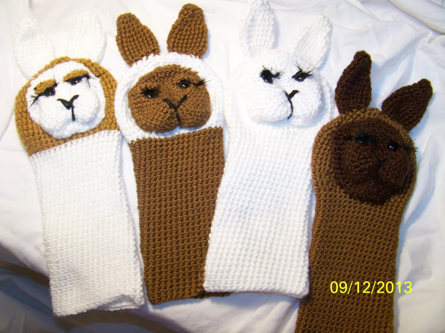 Crochet llama golf club covers any colors you want you can zoom bankloansurffo Gallery