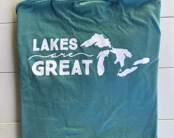 Lakes Are Great - Long Sleeve