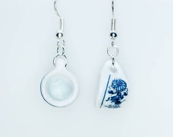 China Cup Earrings