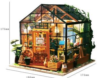DIY Maison boutique fleur