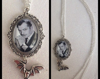 Vincent Price Inspired Cameo Necklace