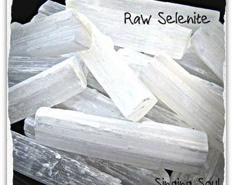 Selenite sticks, Selenite wand, selenite, meditation, Crown chakra, Gypsum, Raw selenite, Healing crystals, home protection, aura, yoga