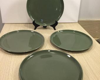 Russel Wright American Modern dinnerware lot Green 15 piece Vintage Midcentury & Modern dinnerware | Etsy