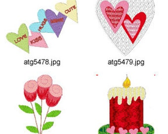 Be-My-Valentine ( 7 Machine Embroidery Designs from ATW ) XYZ17D