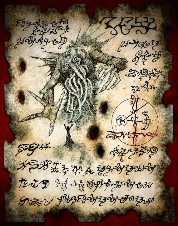 picture about Printable Necronomicon Pages called Printable Necronomicon Web pages