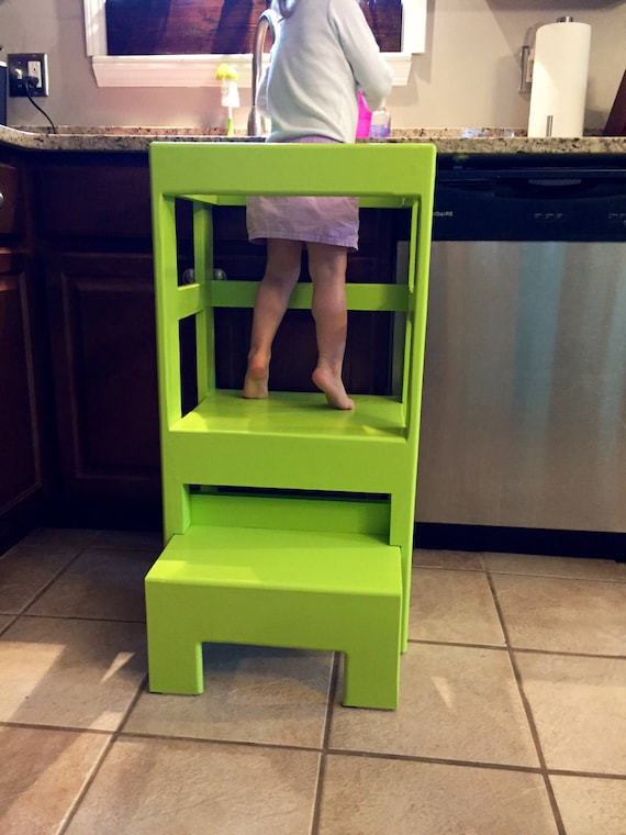 Children S Kitchen Play Step Stool Counter High You Pick