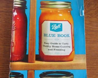Vintage Ball Blue Book 1966