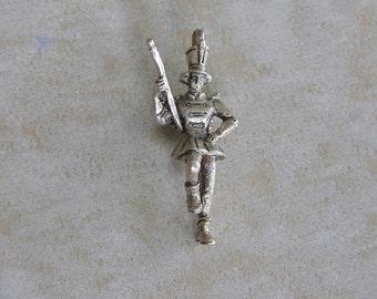 Creed Majorette Marching Band Major Angel Sterling Silver Bracelet Charm Vintage