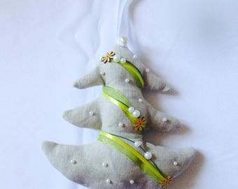 Christmas trees to hang.