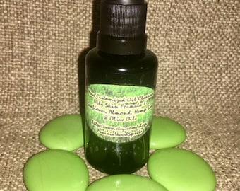Customizable Cleansing Oil Makeup Remover Normal Deep Pore Facial Cleanser Hazelnut Almond Hemp Olive Face Wash 1.5 oz Pump EOsofChoice