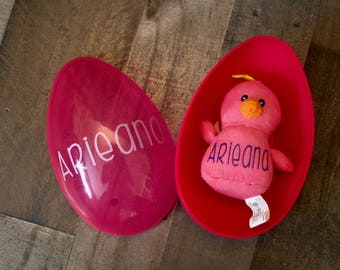 Personalized Baby Chick & Egg