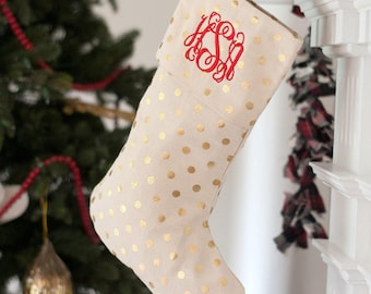 Christmas Stocking, Personalized Christmas Stockings, Monogrammed Christmas Stocking, Christmas Decor, Christmas, Stocking