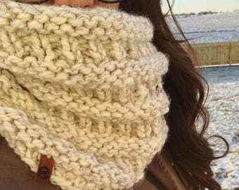 chunky adult knit cowl
