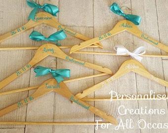 Personalised Bridal Coat Hangers Wedding hanger