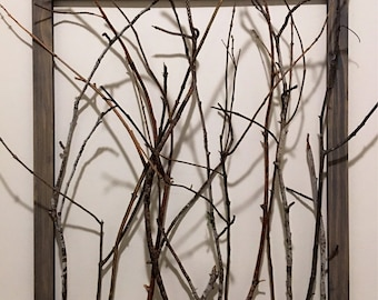 Twig Wall Sculpture
