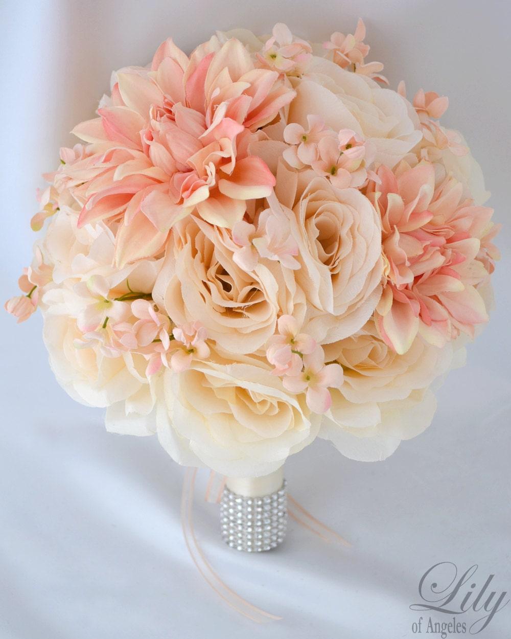Wedding Bouquet Bridal Bouquet Bridesmaid Bouquet Silk