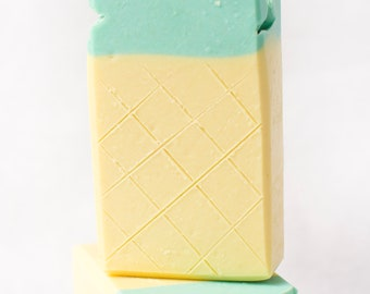 Full of Pineapple Cold Process Soap - 4oz