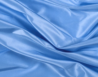 "54"" Wide 100% Silk Taffeta Sky Blue by the yard (9000MT11)"