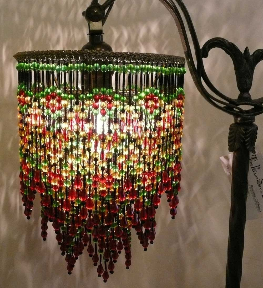 Victorian Triple Beaded Shade Only
