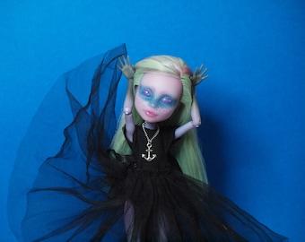 monster high repaint doll OOAK doll Twayla