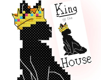 PATTERN PDF - King of the house