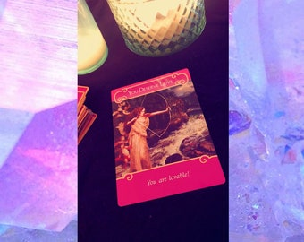 Love Oracle Card Reading