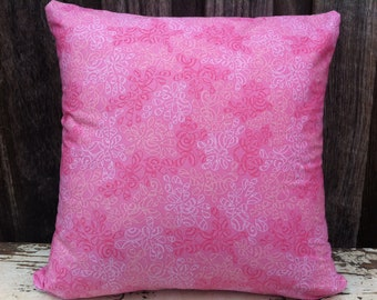 Pink Perfection Cushion/pillow with Shades of Pink Petals Design