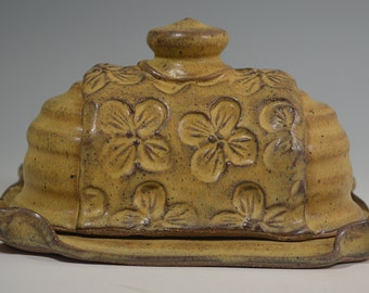 Butter Dish, handmade pottery, butter, kitchen storage, Butter keeper
