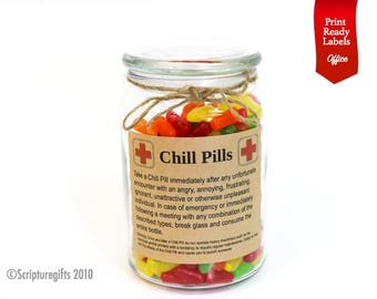 Funniest Personalized Chill Pills for Professionals