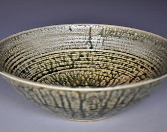 Ceramic Salad Bowl Pottery Serving Pasta Bowl B