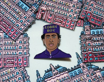 Limited Edition Wes Anderson inspired Zero Pin