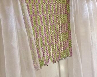 ON SALE Beaded curtain Beads Hanging Beads Hanging crystals hanging strings Crystal curtain Dreamy look Door Decor bead curtains housewarmin