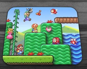 Super Mario 2 Mousepad