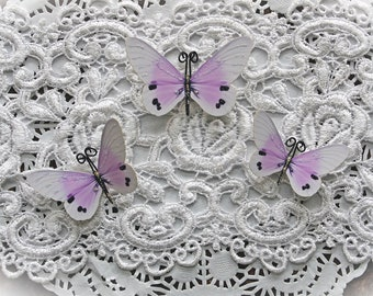 Reneabouquets Butterfly Set -  Sweet Dreams Premium Paper Butterflies In Lavender