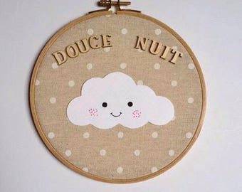 """Drum """"Silent night"""" baby decor nursery baby, baby, baby picture frame"""