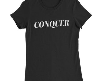Conquer Women's Slim Fit Tee