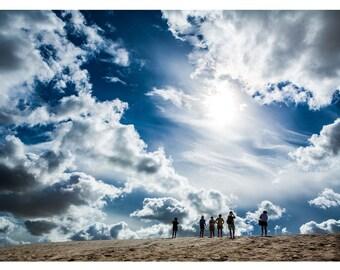 Sand Sun Sky