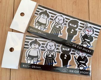 Japanese Themed Stickies (2 packages)