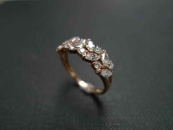 Marquise Engagement Ring Wedding Ring Diamond Ring